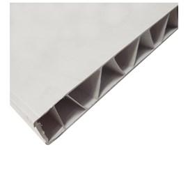 Painel de PVC Vipal branco 35mm x 1,20m x 2,10m