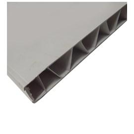 Painel de PVC Vipal Cinza 1200mm x 2110mm x 35mm