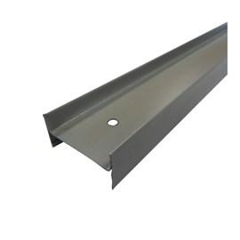 Perfil de divisória Rollfor NTR Travessa cinza 20mm x 40mm x 3,0m