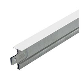 Perfil para forro Espaço Perfil Fineline T15 branco 1,250m
