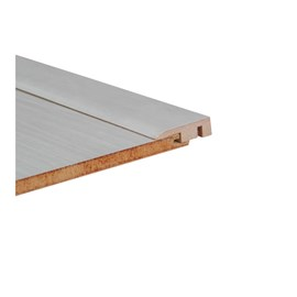 Perfil Piso Parede Durafloor Stucco / Salinas 10mm x 32mm x 2100mm
