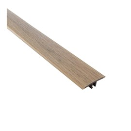 Perfil t Eucafloor Tecno cor 18 10mm x 50mm x 1,80m
