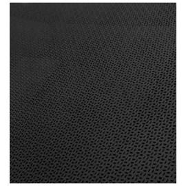 Piso de borracha Ecosistema Grão De Arroz preto 3mm x 500mm x 500m
