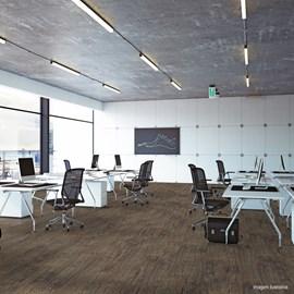 Piso Vinílico Colado EspaçoFloor Office Mild Oak Baden 3mm