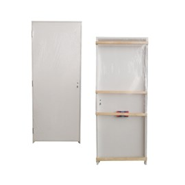 Porta para drywall Germano Madeira m70 direita 35mm x 82cm x 2,11m