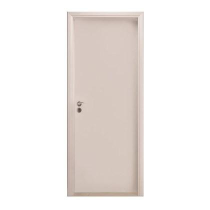 Porta pronta para alvenaria Eucatex Madeira Primer Lisa Bat 14 820mm x 2100mm x 35mm