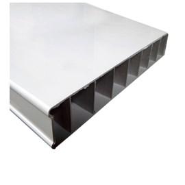 Porta PVC Vipal Branca 600mm x 2100mm x 35mm