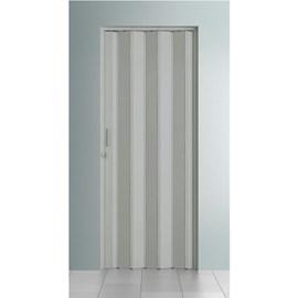 Porta sanfonada Bcf Cinza 84cm x 210cm