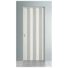 Porta sanfonada Bcf Com fechadura Branca 96cm x 2,10m