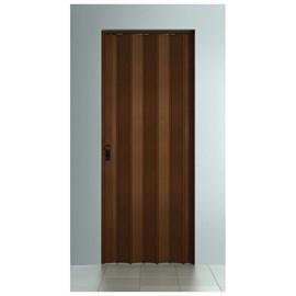 Porta sanfonada Bcf Com fechadura Imbuia 60cm x 2,10m