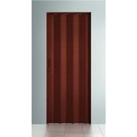 Porta sanfonada Bcf Mogno 60cm x 2,10m