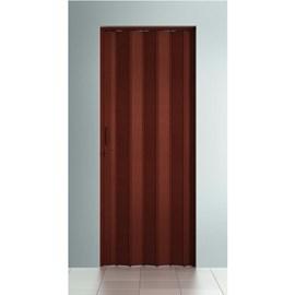 Porta sanfonada Bcf Mogno 84cm x 2,10m