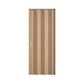 Porta Sanfonada Fechadura BCF Bege 0,84cm x 210cm