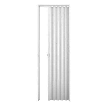 Porta sanfonada Plasbil Branca 130cm x 2,10m