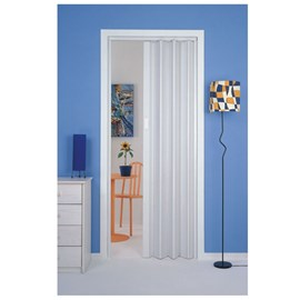 Porta sanfonada Plasbil Branca 70cm x 2,10m