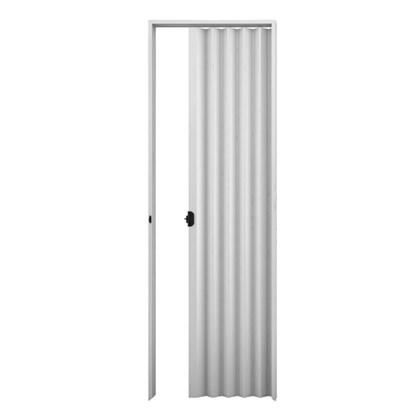 Porta sanfonada Plasbil Cinza 100cm x 2,10m