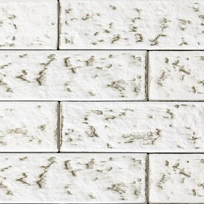 Revestimento de Parede Santa Luzia Ecobrick Branco Envelhecido 75mm x 135mm x 9mm