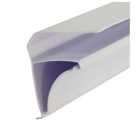 Roda Forro Moldura E-PVC Branco 3m