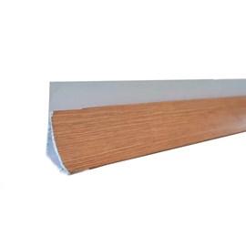 Roda Forro Moldura Espaço Forro Wall Angle Nature Oak Rublo L006 2,95m