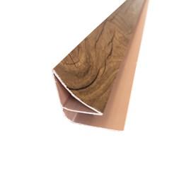 Roda forro moldura EspaçoForro Wall Angle Nature oak almond 2,95m