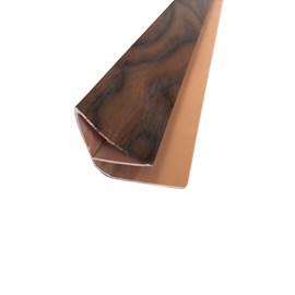 Roda forro moldura EspaçoForro Wall Angle Nature oak nero hp 2,95m