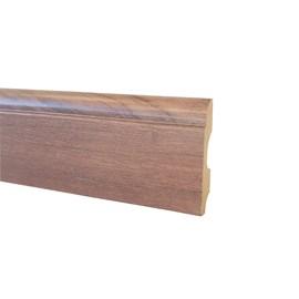 Rodapé de mdf Durafloor Clean Álamo 8cm x 15mm x 2,1m
