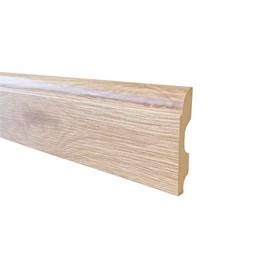 Rodapé de mdf Durafloor Clean Arenal 8cm x 15mm x 2,1m