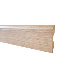 Rodapé de mdf Durafloor Clean Bariloche 8cm x 15mm x 2,1m