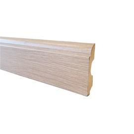 Rodapé de mdf Durafloor Clean Carvalho Dover 8cm x 15mm x 2,1m
