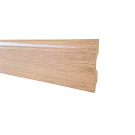 Rodapé de mdf Durafloor Clean Carvalho Malta 8cm x 15mm x 2,1m