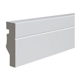 Rodapé de Poliestireno Durafloor Maxx 6cm M-03 Branco 2,1m