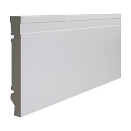 Rodapé de Poliestireno Durafloor Maxx M-01 15cm M-01 Branco 150mm x 18mm x 2100mm